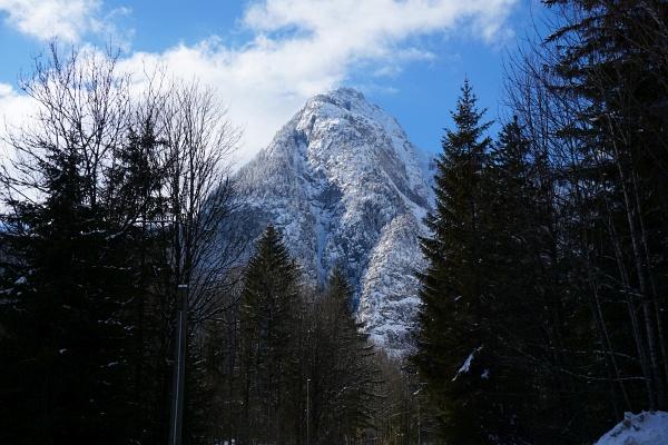 Zurück im Tal wurde das Wetter besser. Blick zum Stoderzinken.