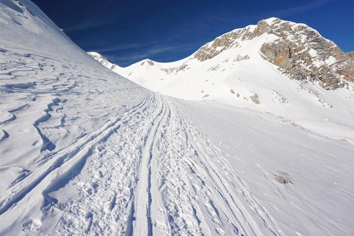 Auch wenn sehr viele Wanderer auf der Rumplertour unterwegs sind, steigt man sich im weitläufigen Gelände nicht auf die Zehen.