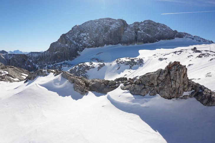 Der Schladminger Gletscher vor dem Koppenkarstein.