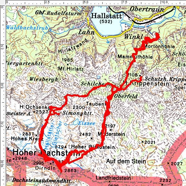 Etliche Male waren wir in den letzten 15 Jahren bereits auf der Rumplertour von Süden und von Norden unterwegs.