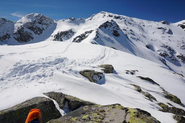Der höchste Punkt der Tour war heute ein unbenannter Hügel östlich der Keuchenscharte