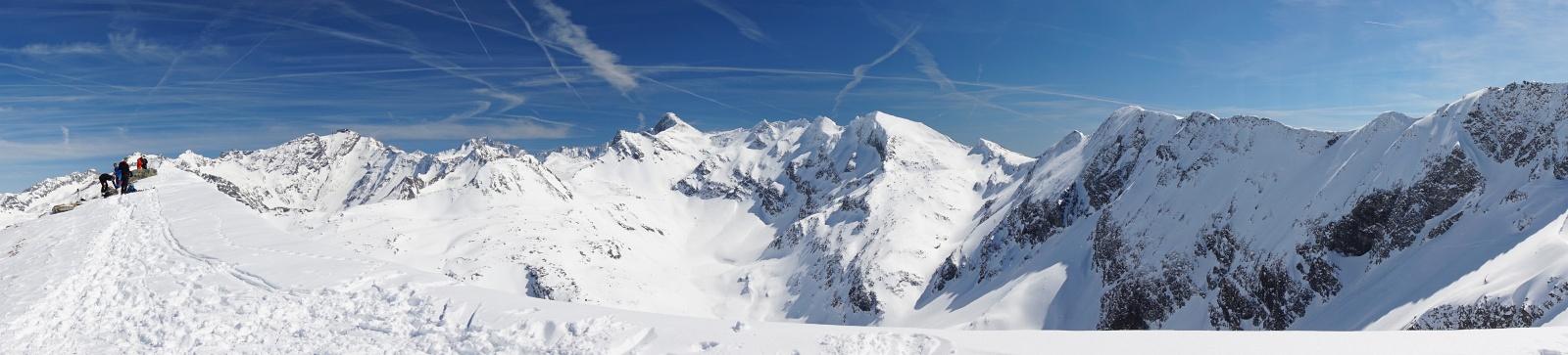 Herrlicher Panoramablick in die Bergwelt der Ankogelgruppe