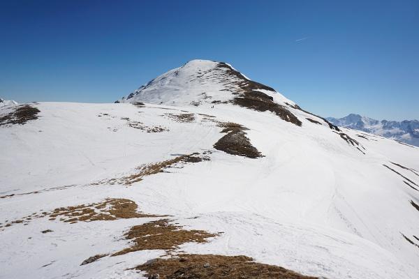 Übergang vom Seekopf zum Kolmkarspitz-Westgipfel