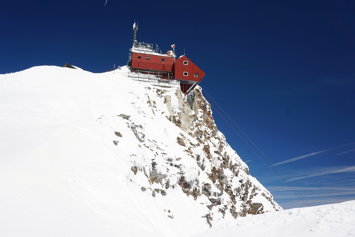 Das Observatorium am Sonnblick.