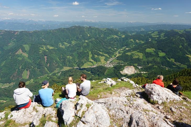 Der alpine Schaugenuß hält sich in dieser Gegend eher in Grenzen
