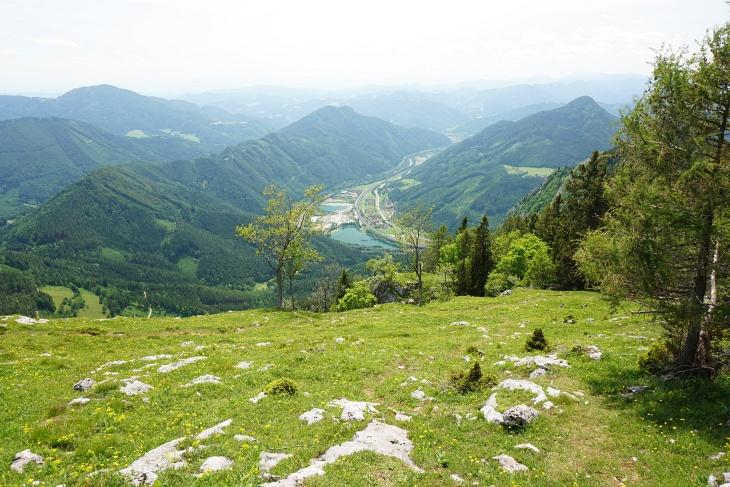 Eher eintöniger Abstieg zurück nach Mixnitz