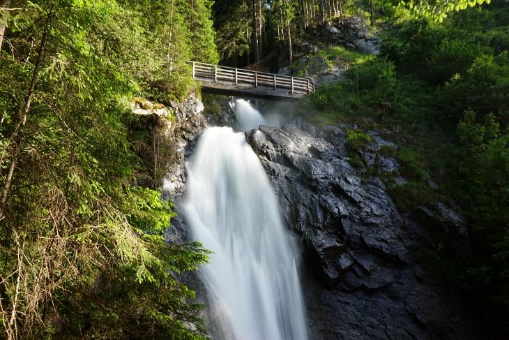 Start in der Nähe des Günster Wasserfalls