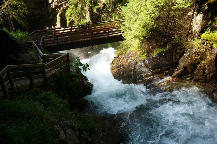 Mit 65 Meter Fallhöhe der höchste Wasserfall in der Steiermark
