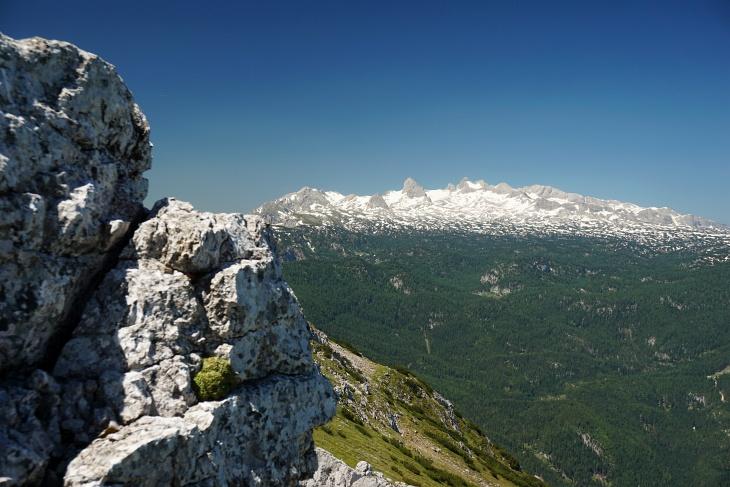 Herrlicher Ausblick zum Dachstein ...