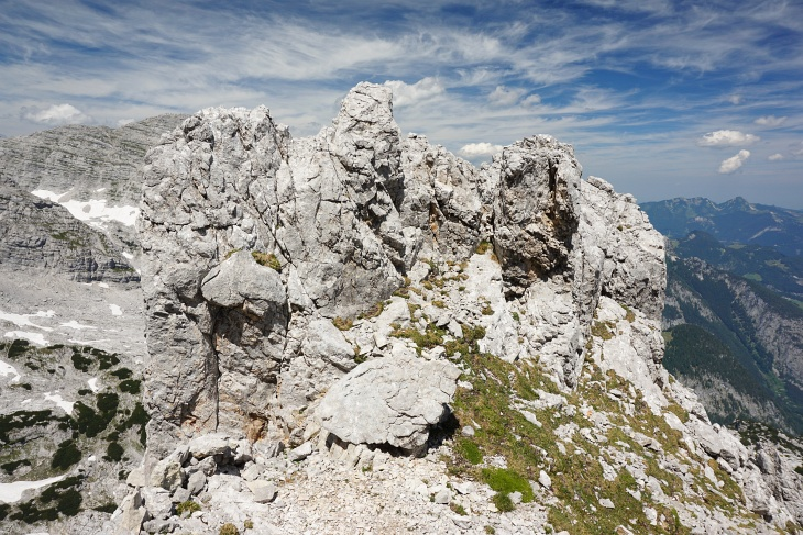 Felsformation am Grossen Ochsenhorn