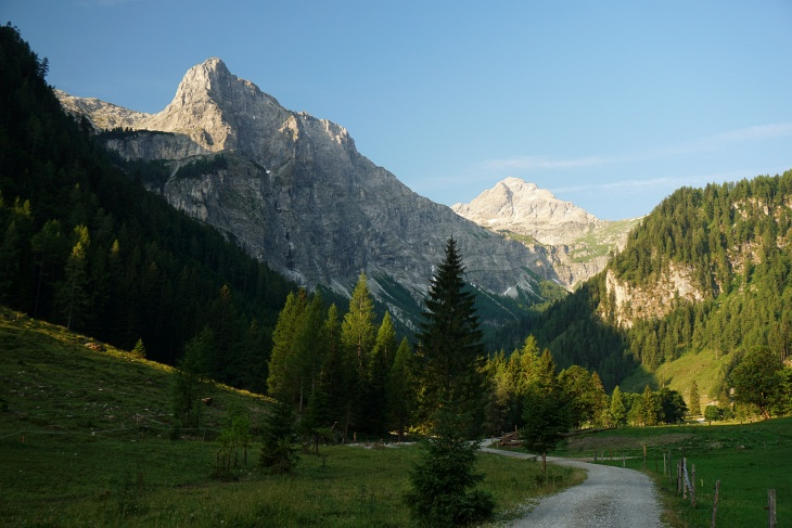 Der Faulkogel war das eigentliche Gipfelziel. Das Graihorn (links) ist es geworden.