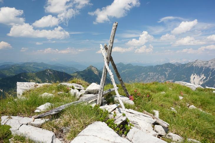 Gipfelzeichen am Graihorn