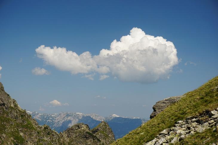... und in der Wolkennachbildung am Himmel.