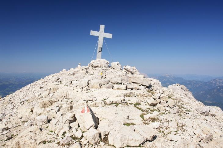 Gipfelkreuz am Mitterhorn