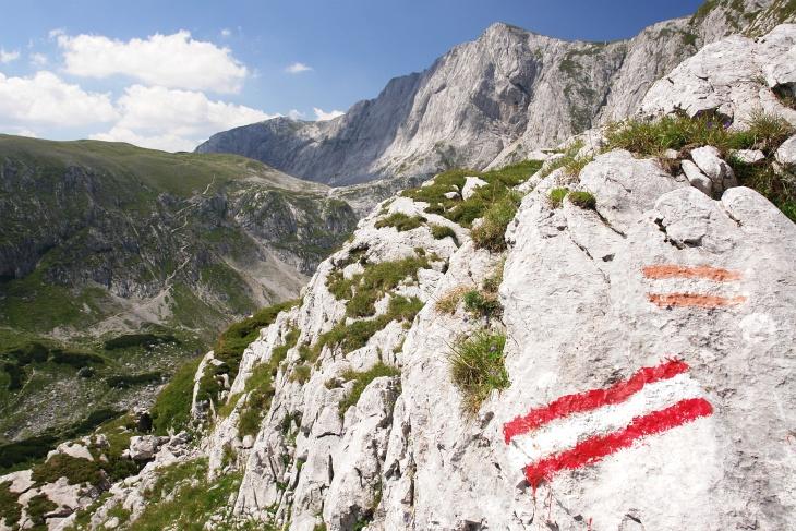 Lange Zustiegswege auf die höchsten Gipfel