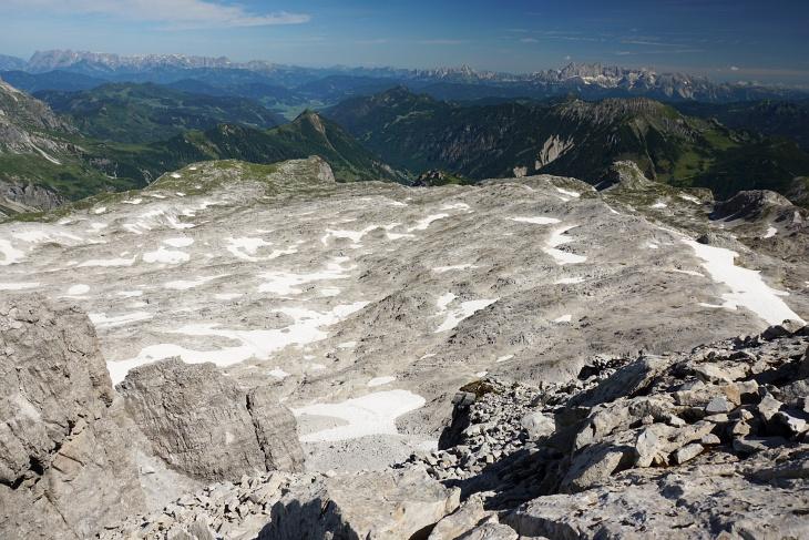 Gasthofkar: Karge Felswüste im Norden