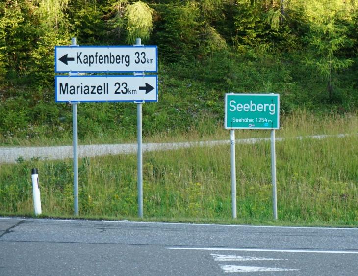 Start am Seebergsattel