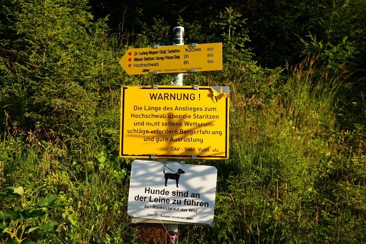 Lange Distanzen sind im Hochschwabgebirge eher die Regel, als die Ausnahme.