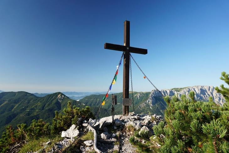 Gipfelkreuz auf der Seeleiten