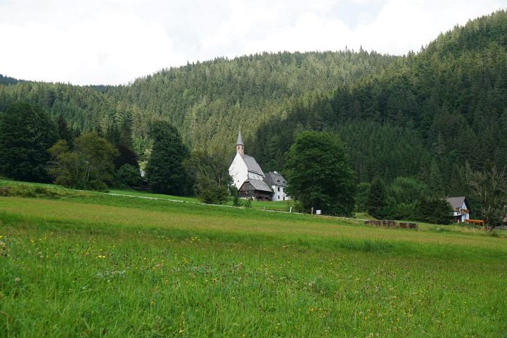 Von Seewiesen noch einmal 300 Höhenmeter bergan zum Seebergsattel.