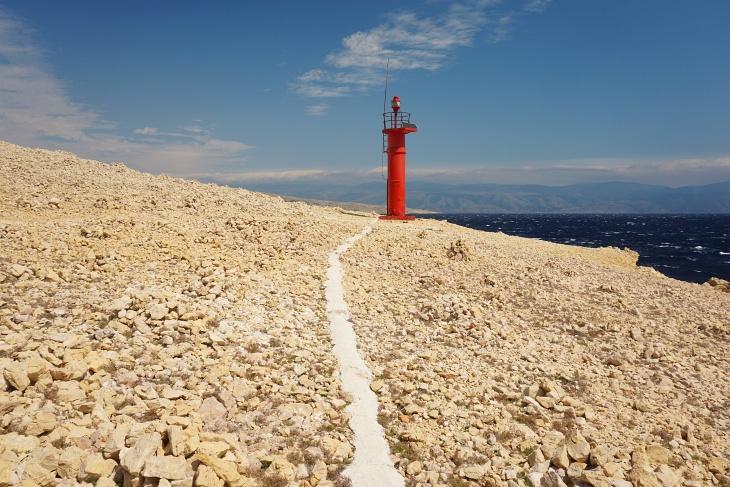 Der Leuchtturm Rt Skuljica