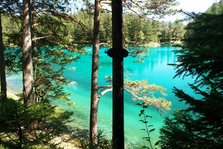 Der Grüne See übertrifft alle anderen Seen an schillerndem Farbenglanz