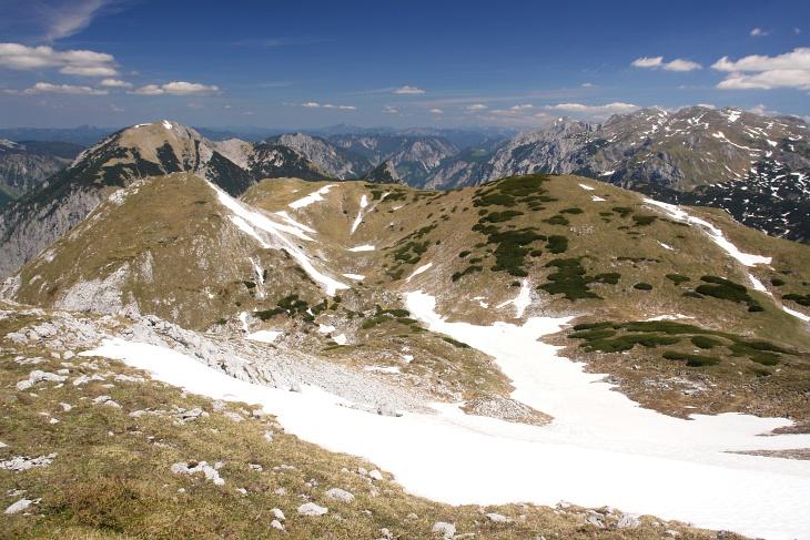 Hügeliges Hochplateau (am Grießstein)