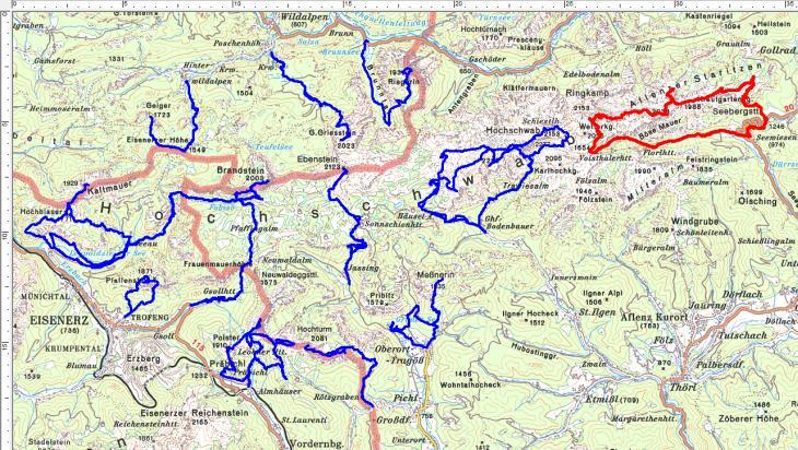"""Ein """"weißer Fleck"""" im Osten des Hochschwabgebirges wurde erschlossen."""