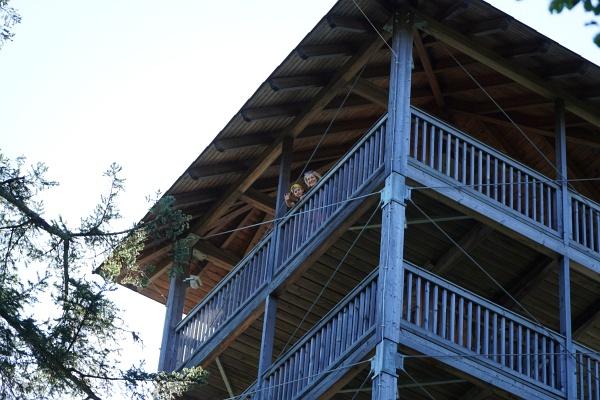 Aussichtsturm am Tressenstein zwischen Grundlsee und Altausseer See