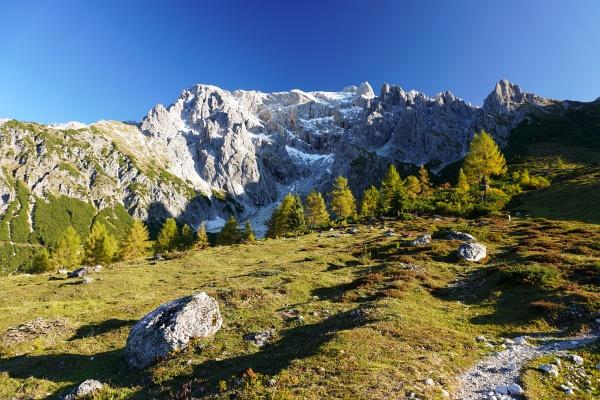 Aufstieg von der Erichhütte Richtung Hochkönigstock