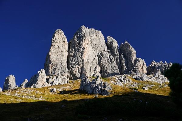 170 Höhenmeter führt ein C-D-Klettersteig auf den Grandlspitz