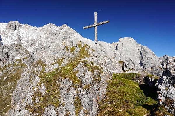 Gipfelkreuz auf der Taghaube