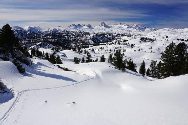 Das obligatorische Dachsteinblick-Foto