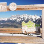 Den Dachstein - ansonsten immer Fixpunkt der Frühjahrs-Skitouren - geben wir uns heuer nur aus der Ferne.