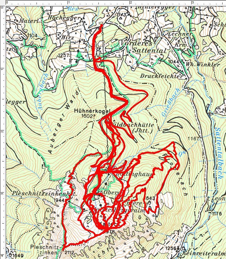 3 Spaziergänge über 4.400 Höhenmeter und 51 Kilometer am Galsterberg.