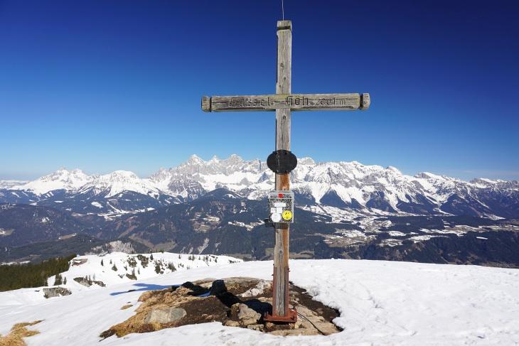 Gipfelkreuz auf der Gasselhoehe