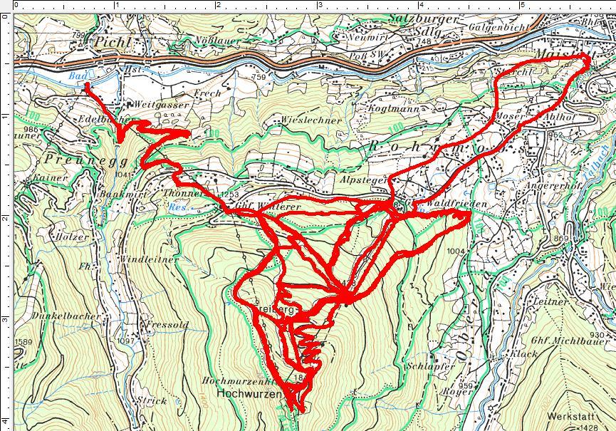 2 Hochwurzen-Touren mit 4 Mal Hochwurzenhütte (4.445 Höhenmeter, 53 Kilometer)