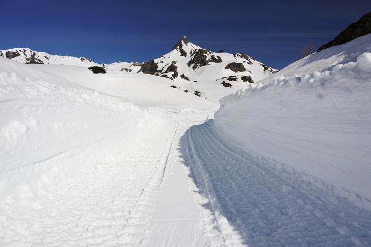 Bei meiner Besteigung der Seekarspitze war diese von Hochnebel verhüllt. Deshalb gibt´s hier ein Foto von der Seekareck-Tour.