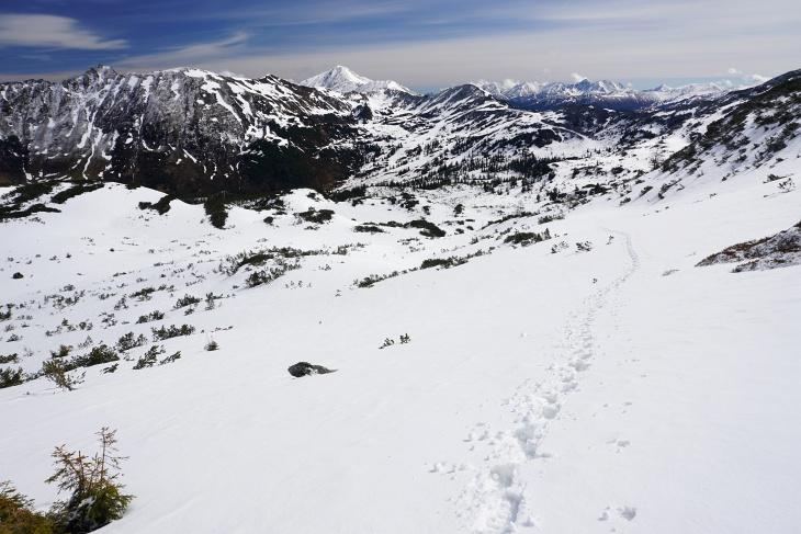 Schneeschuhwanderung im Plannerkessel am Monatsletzten