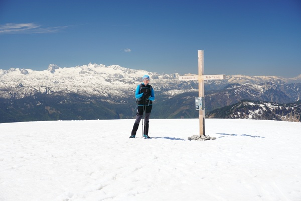 Die erste Bergwandertour des Jahres führt uns auf den Lawinenstein.