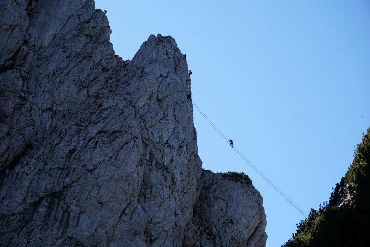 Intersport-Klettersteig auf den Großen Donnerkogel